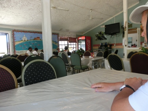 Inside Lorraine's Cafe