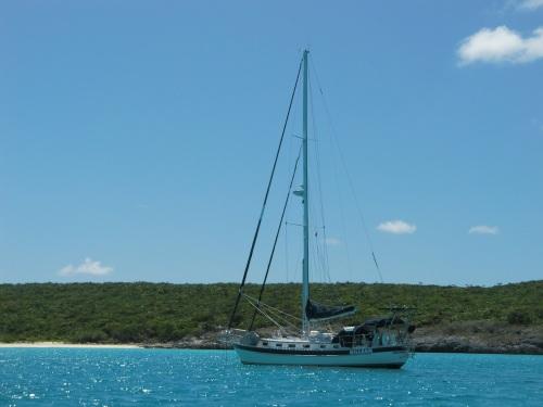 Gillean,  our companion Doug's boat.
